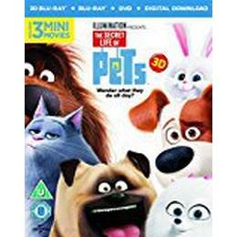 The Secret Life Of Pets (Blu-ray 3D + Blu-ray + DVD + Digital Download) [2015]